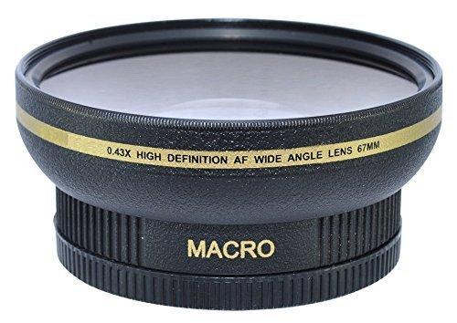 Power^UP 67MM (67 mm) Grandangolare Macro Convertitore Obiettivo per Canon, Carl Zeiss, Fujifilm, Nikon, Panasonic, Pentax, Olympus, Samsung, Sigma, Sony, Tamron, Tokina Obiettivo