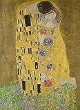 The Kiss By Gustav Klimt Jigsaw Puzzle 1000 piezas de madera juego de arte para adultos y adolescentes