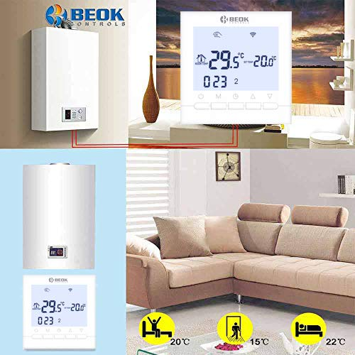 BEOK CONTROLS BOT-313WIFI-WH