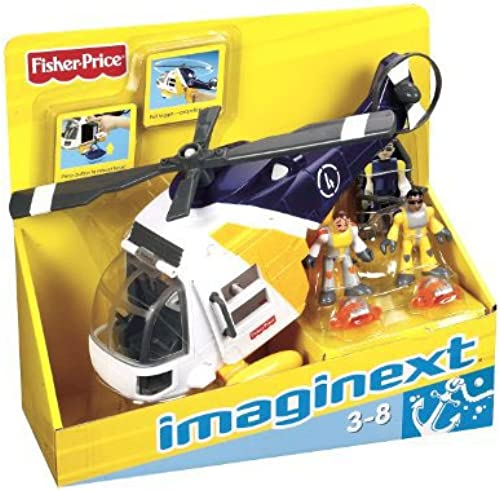 Fisher-Price imaginext Hubschrauber