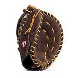 barnett GL-301 guante de béisbol competición primera base, para diestros REG, marrón