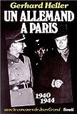 Un allemand à Paris