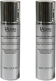 x2 Royal Jelly Anti Aging SERUM With Hyaluronic Acid – DermaCeutical