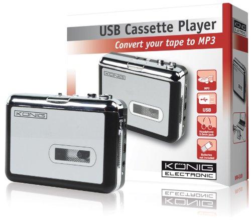 König HAV-CA10 Kassetten - MP3 Konverter