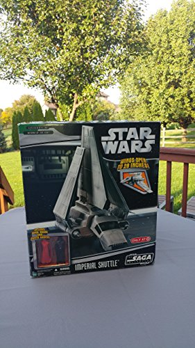 Star Wars 2006 Saga Collection Imperial Shuttle Exclusive Action Figure Vehicle