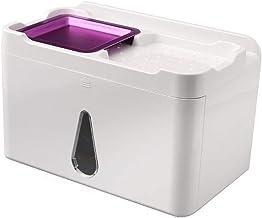 LJBH Suction Cup Type Bathroom Tissue Box, Toilet Paper Box, Punch-free Toilet Paper Towel Holder, Bathroom Shelf Waterpro...