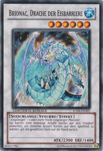 Yu-Gi-Oh Holo Brionac, Drache der Eisbarriere H5SE-DE001 super rare