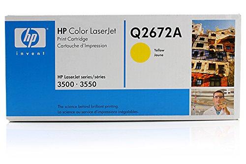 Original HP Q2672A Toner Yellow für HP Color Laserjet 3500