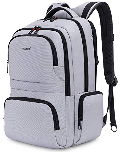 KUPRINE Travel Anti Theft Slim Durable Laptop Backpacks for Women Mens Lightweight Water Resistant College Computer Backpack Fits Most 15.6 Laptop & Tablet