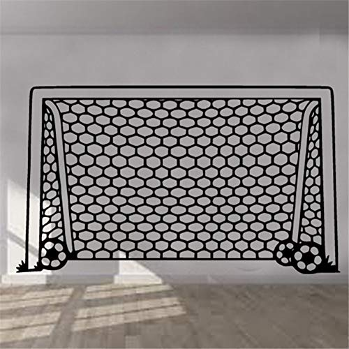 Fußball Ziel Netto Kunst Kinderzimmer Jungen Mädchen Dekor schlafzimmer wohnzimmer Wandtattoo Wohnzimmer Wandaufkleber Schlafzimmer