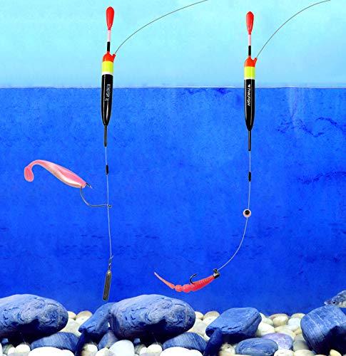 1//2oz 5piezas//10piezas//15piezas 1//6oz THKFISH Flotadores de Pesca Bobbers de Pesca Flotadores De Madera De Balsa/ 5g 10g 3//8oz 15g