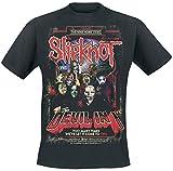 Slipknot The Devil In I Hombre Camiseta Negro S, 100% algodón, Regular