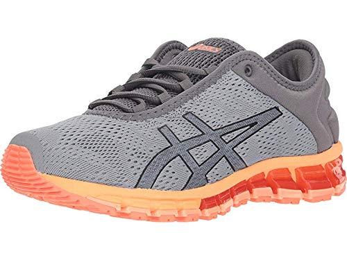 ASICS Women's Gel-Quantum 180 3 Running Shoes, 8M, Stone Grey/Carbon