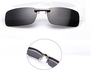 284e193381 Shsyue Montura con clip de gafas de sol polarizadas para conducció ...