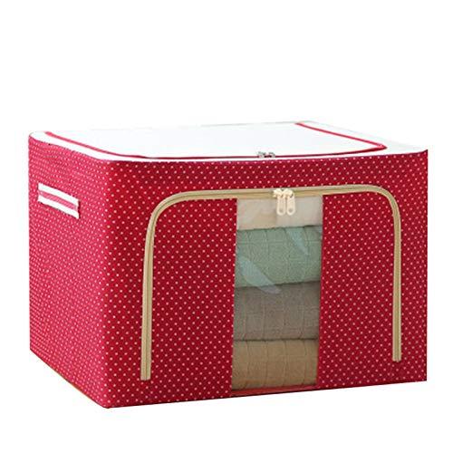Hotar Oxford - Caja de almacenamiento para ropa, sábanas, mantas, cojines, zapatos, organizador