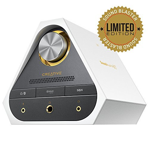 Sound Blaster X7 Limited Edition (Pearl White) - High Resolution External USB DAC and Audio Amplifie...