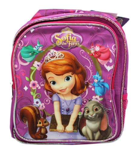Disney Little Princess Sofia the First Fairy 10' Mini Toddler Backpack