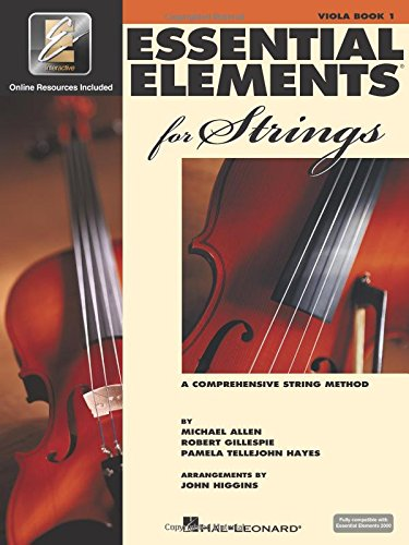 Essential Elements for Strings - Book 1 with EEi: Viola (ALTO)