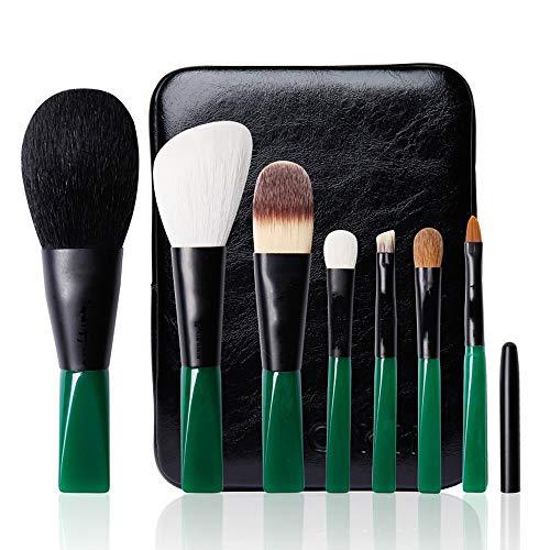 ZYFF huazhuangshua 7 Maquillage Brosse Maquillage Brosse Maquillage Outils Maquillage Brosse Poudre Libre Ombre À Paupières Pinceau Laine Naturelle Finition Rencontre Rencontre Ton Échangeable