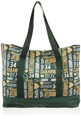 FOCO Milwaukee Bucks Antetokounmpo G. #34 Damen-Collage-Tasche