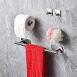 Zoom IMG-2 yudoxn porta asciugamani bagno 40cm