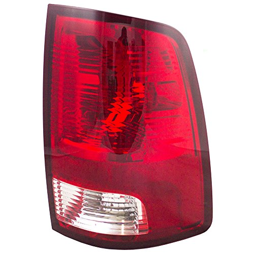 Passengers Taillight Tail Lamp Lens Unit Replacement for 09-10 Dodge Ram & 11-18 RAM Pickup Truck 55277414AF