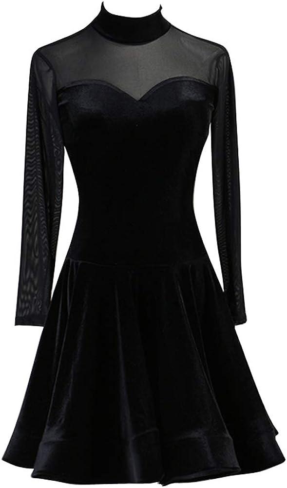 NAKOKOU Black Latin Rhythm Dress Max Seasonal Wrap Introduction 40% OFF