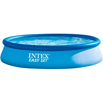 Intex 28143NP - Piscina hinchable Easy Set 396 x 84 cm, 7.290 ...