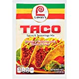 chicken taco mix - Lawry's Taco Seasoning Mix, 1 oz ( Pack of 12 )