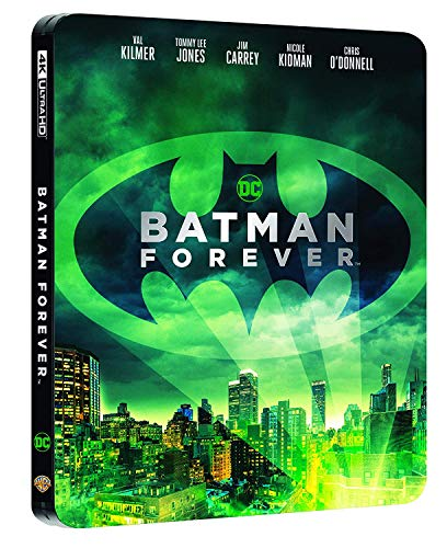 KILMER,LEE JONES,CARREY,KIDMAN,O'DONNELL,GOUGH,HINGLE,BARRYMORE D. - BATMAN FOREVER (STEELBOOK) (4K+BR) (2 BLU-RAY)