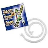 Zaubertricks und Zauberartikel Stiff Rope Zaubertrick für Kinder   Indischer Seiltrick aus Zauberkasten   Seil starr Zaubern   Zauber-Seil für Zauberer ab 14 Jahren   Professionelle