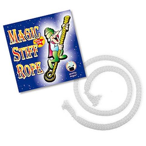 Zaubertricks und Zauberartikel Stiff Rope Zaubertrick für Kinder | Indischer Seiltrick aus Zauberkasten | Seil starr Zaubern | Zauber-Seil für Zauberer ab 14 Jahren | Professionelle