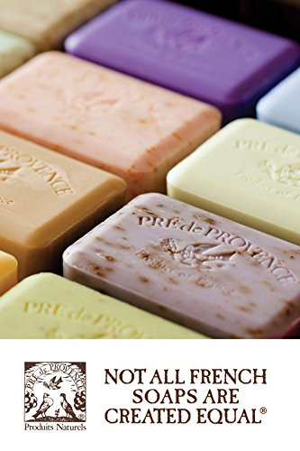 Pre de Provence Artisanal French Soap Bar Enriched with Shea Butter, Raspberry, 250 Gram