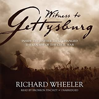 Witness to Gettysburg audiobook cover art