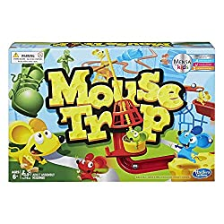 Reviewed by MENSA for Kids Practice valuable skills in construction, cause and effect, and decision-making The classic game of mouse-catchin' action From the makers of the Cranium game