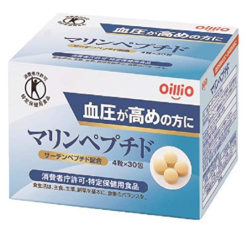 日清オイリオ マリンペプチド (4粒×30包)×1箱
