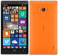 NOKIA Lumia 930 RM-1045 32GB Bright Orange Factory Unlocked 4G LTE 3G 2G GSM SIMFREE RM 1045 [ 2G 850/900/1800/1900 | 3G 850/900/1900/2100 | 4G LTE 800/900/1800/2100/2600 ]