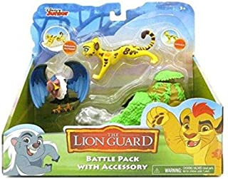 Disney Lion Guard Battle Pack With Accessory Rolling Rock