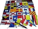 Marine Nautical Sailboat Boating Signal Code Flag - Set of Total 40 Flag -Total 42 Flag – Nautical/Maritime Boat/Ship/Vessel/Nautical Decor (5114)