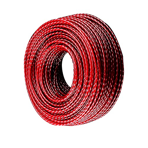 Grass Strimmer Trimmers Line Twist Trimmer Line Strimmers Wire Weed String Trimmer Lines Brush Cutter Weed Eater Line Cord String Wire (2.0mmx50m)