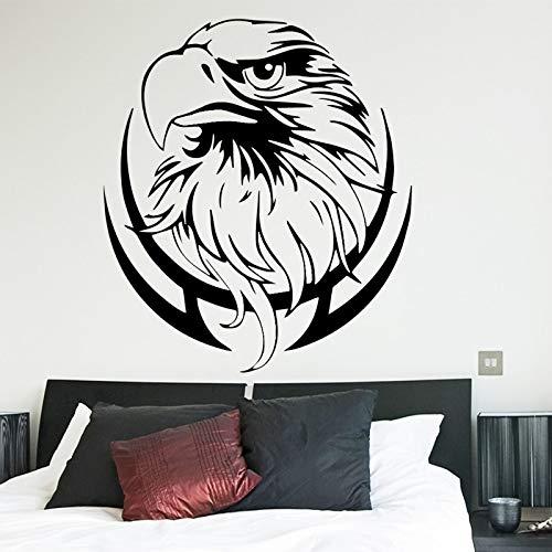 Tianpengyuanshuai Eagle Abnehmbarer wasserdichter Wandaufkleber Wandaufkleber 58X66cm