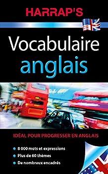 Hardcover Harrap's Vocabulaire anglais (Harrap's parascolaire) (French Edition) [French] Book