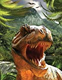 Tyrannosaurus Rex Dinosaur Composition Notebook, Narrow Ruled: Lined Student Exercise Book