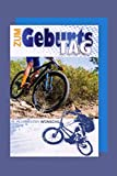 Fahrrad Hobby Sport Geburtstag Karte Grußkarte Mountainbike 16x11cm Plus 3 Sticker