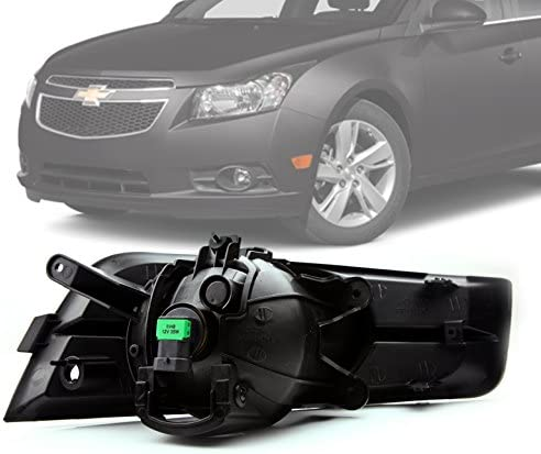 Amazon.com: ZMAUTOPARTS For Chevy Cruze Bumper Driving Clear Fog Lights+Black  Cover+Wiring Harness Kit: Automotive | 2012 Chevy Cruze Fog L Wiring Harness |  | Amazon.com