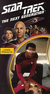 Star Trek - The Next Generation, Episode 8: Lonely Among Us VHS
