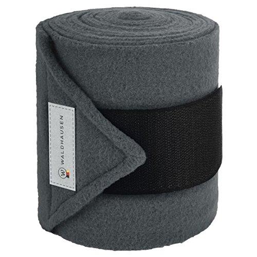 WALDHAUSEN Fleecebandage Esperia, magnet/schwarz, WB, 4er-Set, magnet/schwarz