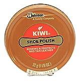 Kiwi Mid Tan Shoe Polish 32g (1-1/8 Oz.)
