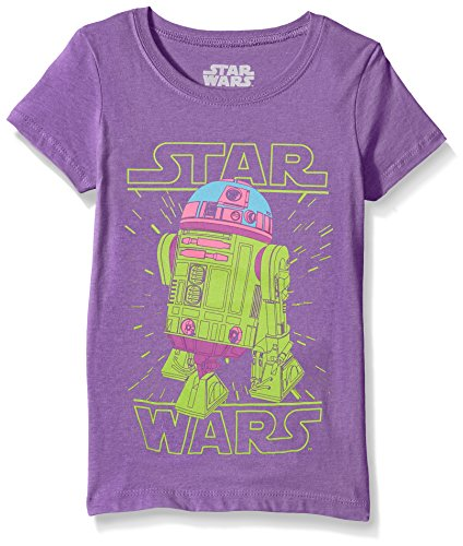 Star Wars Girls' Big, Purple//red Lines, Small