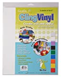 Grafix 9-Inch-by-12-Inch Cling Film, 6-Pack, Clear (KCF6C)